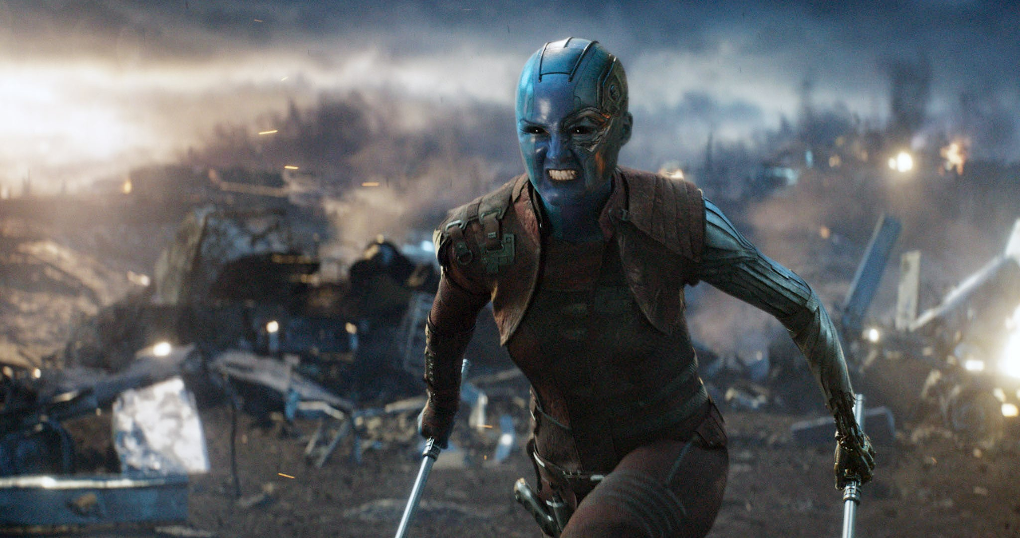 AVENGERS: ENDGAME, (aka AVENGERS 4), Karen Gillan as Nebula, 2019.  Walt Disney Studios Motion Pictures /  Marvel Studios / courtesy Everett Collection