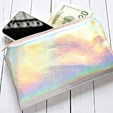 Rainbow Holographic Pouch