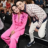 Annie LeBlanc and Asher Angel at the Teen Choice Awards 2019