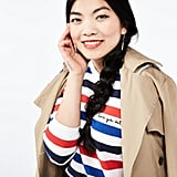 "POPSUGAR at Kohl's collection ""Love Ya Self"" Striped Sweater"