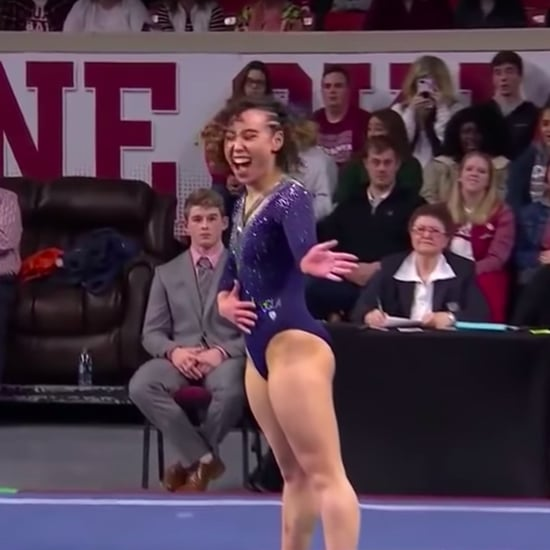 Katelyn Ohashi Gymnastics Floor Routine March 2019