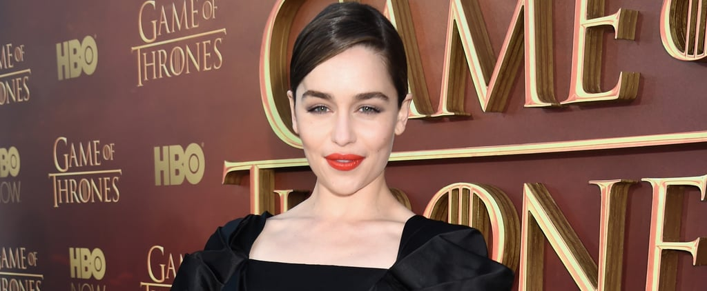 """Game of Thrones Star Emilia Clarke Has """"No Regrets"""" About Turning Down Fifty Shades"""