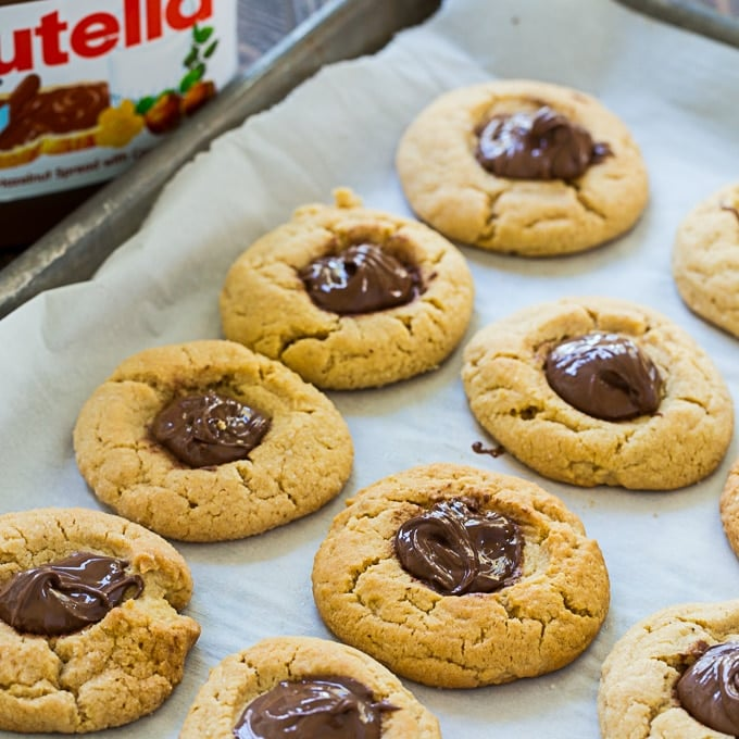 Peanut Butter Thumbprint Cookies With Nutella All The Christmas Cookie Recipes You Could Possibly Want For The Holidays Popsugar Food Photo 100
