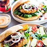 Grilled Adobo Chicken Burgers