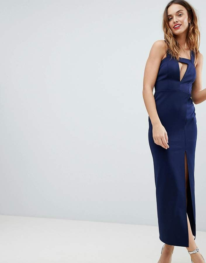 ASOS Cut Out Maxi Dress | Party Dresses at ASOS | POPSUGAR Fashion ...