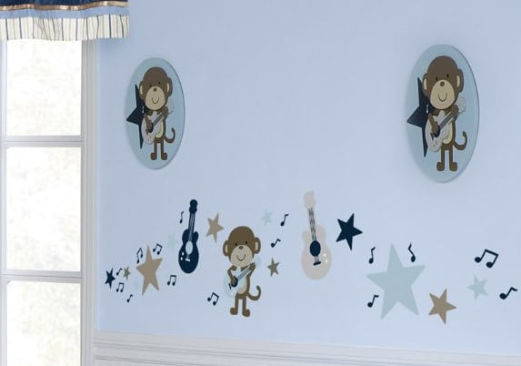 Monkey Rock Star Decal