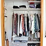 Have a Small Closet? You HAVE to See This Ikea Closet Makeover