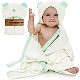 Premium Extra Soft Hooded Bamboo Baby Bath Towel
