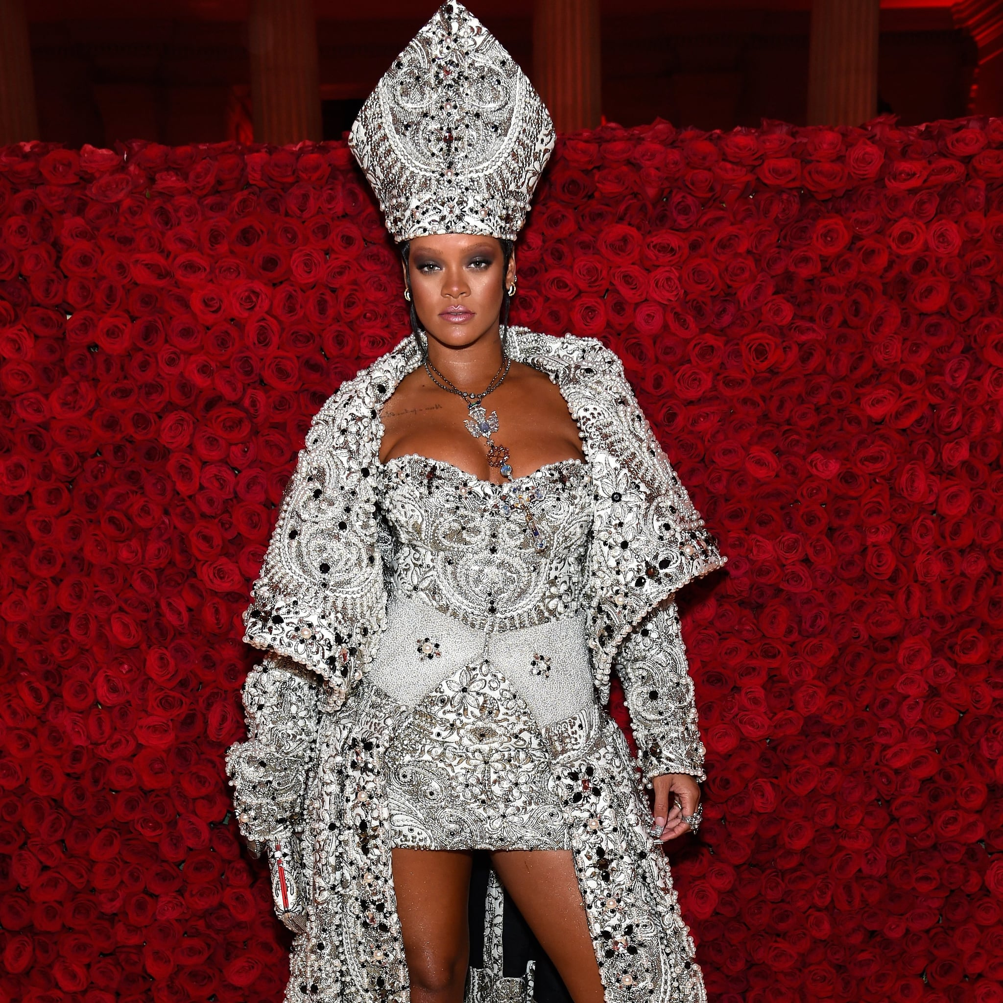 rihanna met gala 2018 halloween costume ideas | popsugar fashion