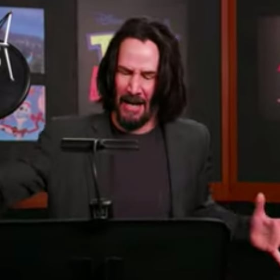 Chris Evans Tweet on Keanu Reeves Toy Story Recording Video