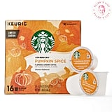 Starbucks Pumpkin Spice Flavored Single-Cup Coffee for Keurig Brewers