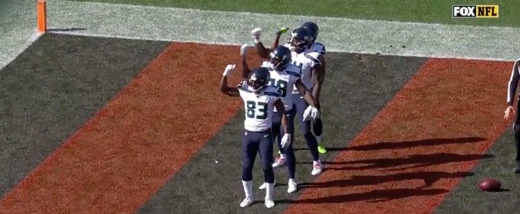 Seattle Seahawks Bye Bye Bye Touchdown Dance Popsugar