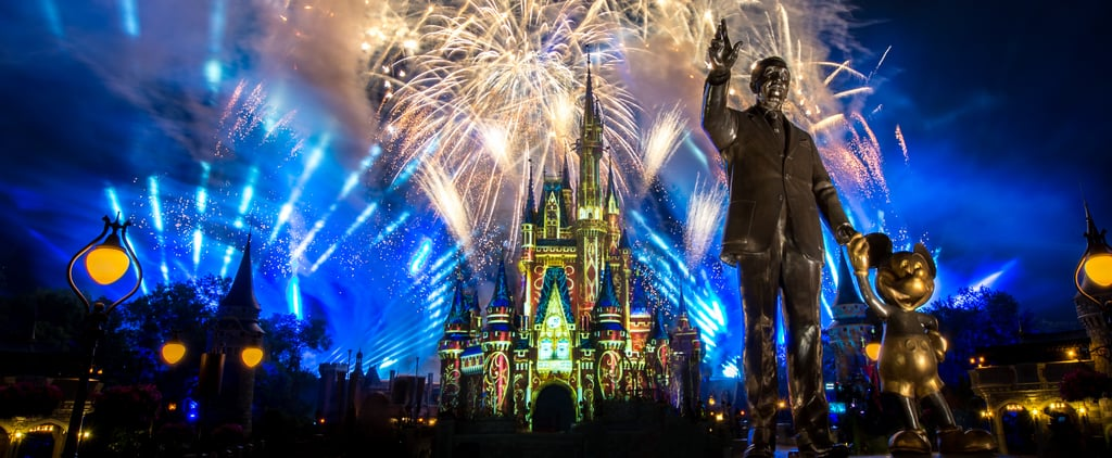 """Watch Walt Disney World's """"Happily Ever After"""" Fireworks"""