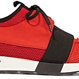 Balenciaga Race Runner Leather (£365)