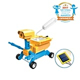 For 9-Year-Olds: Tenergy 2-in-1 Salt Water/Solar Powered Robot Car Kit