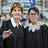 Judge Judy and Supreme Court Justice Ruth Bader Ginsburg