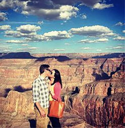 Brittany Maynard Visits Grand Canyon