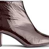 Patent-Leather Ankle Boots ($149)