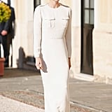 Princess Charlene of Monaco wearing Ralph Lauren.