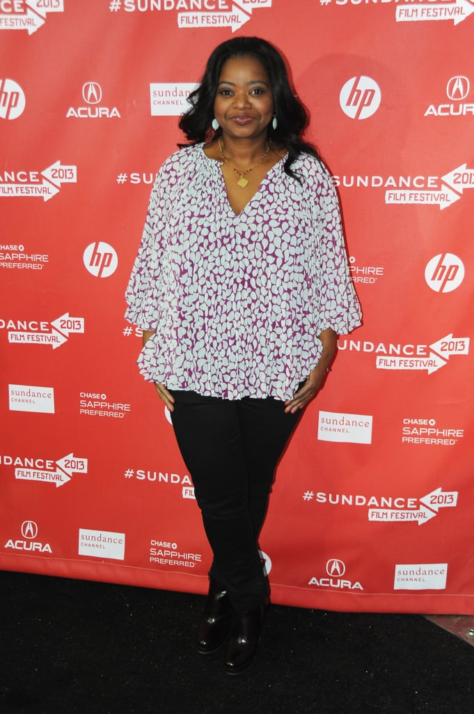 Octavia Spencer attended the premiere of Fruitvale at the Sundance Film Festival on Saturday.