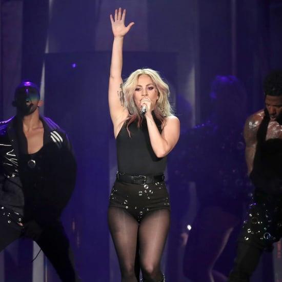 Lady Gaga Armpit Hair Selfie