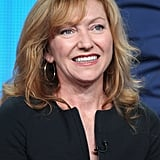 Julie White spoke to the audience at the TCA panel.