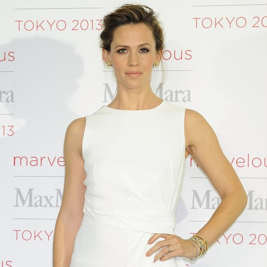 Jennifer Garner In White Dress At Max Mara Event In Tokyo