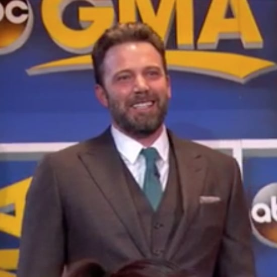 Ben Affleck Crashes John Krasinski's GMA Interview 2016