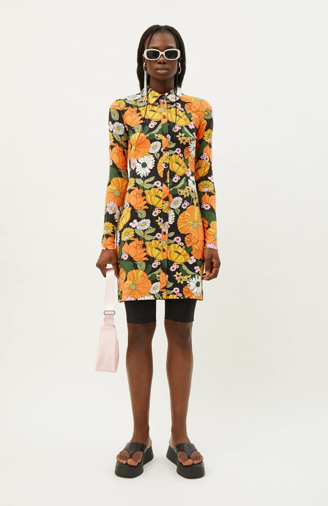 Shop Shirt Dresses: Weekday Trixie Fitted Shirt Dress