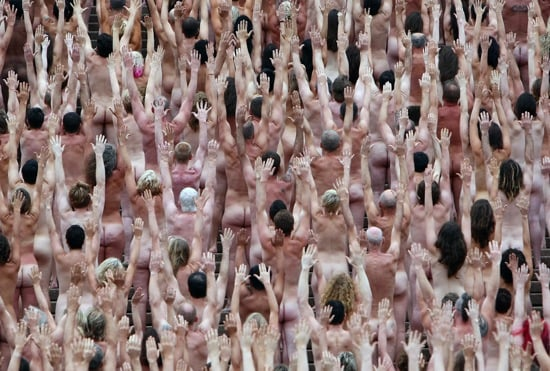 Spencer tunick nudes
