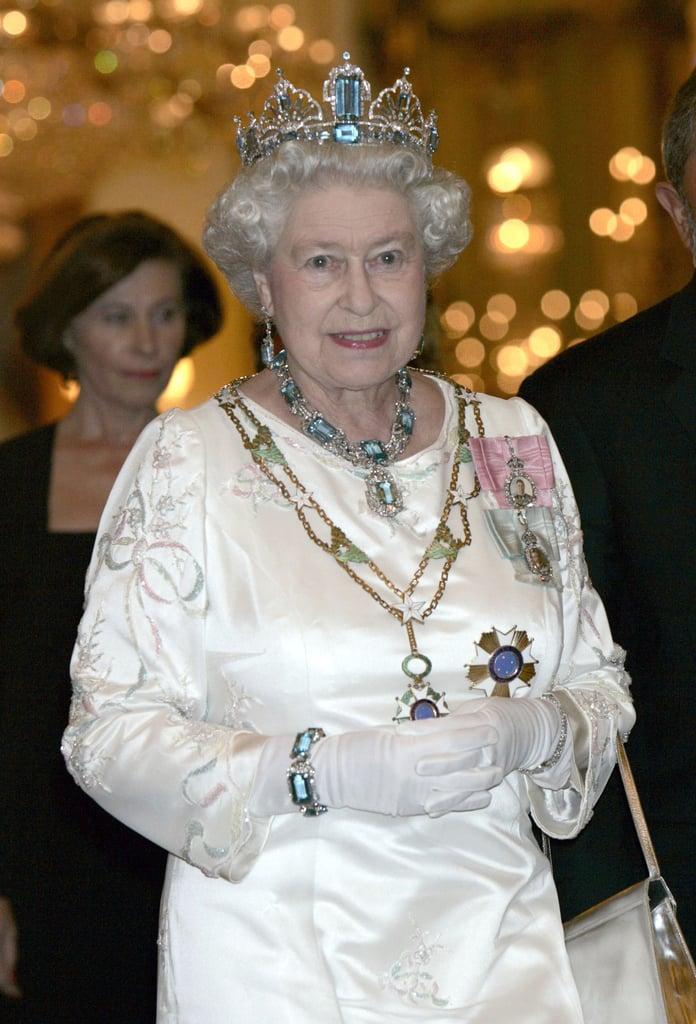 The Queen's Brazilian Aquamarines