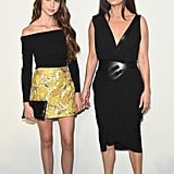 Catherine Zeta-Jones With Daughter at NYFW 2017