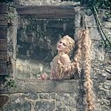 Mackenzie Mauzy as Rapunzel.