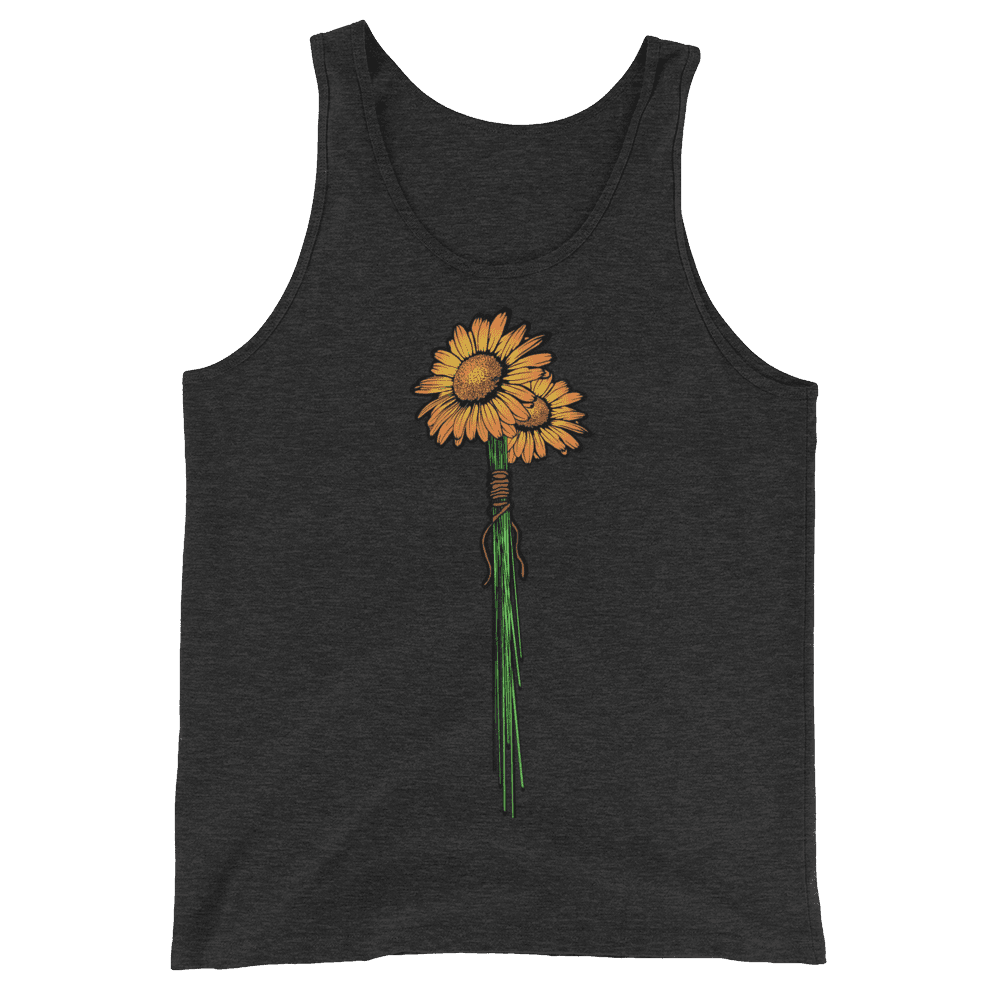 Graphic Boss Sunflower Tank Top