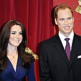 Relive the Royal Engagement With Will and Kate Wax Figures