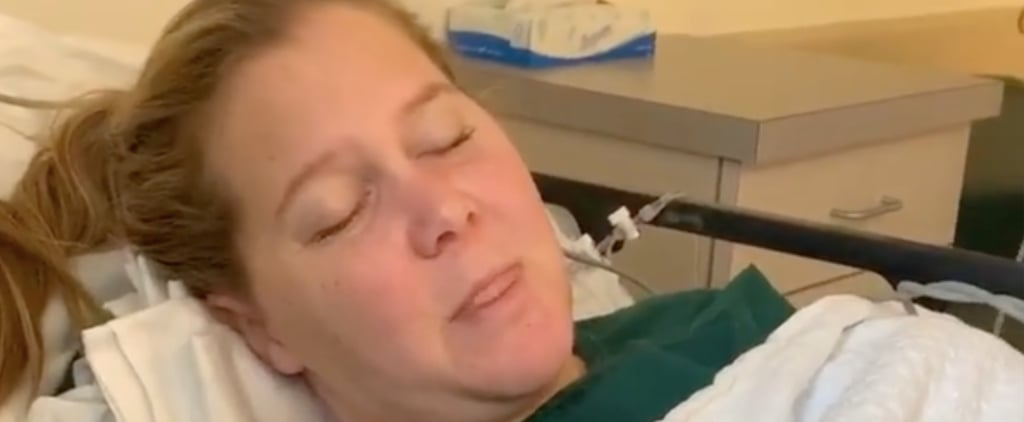 Amy Schumer's Videos From After Egg-Retrieval Procedure