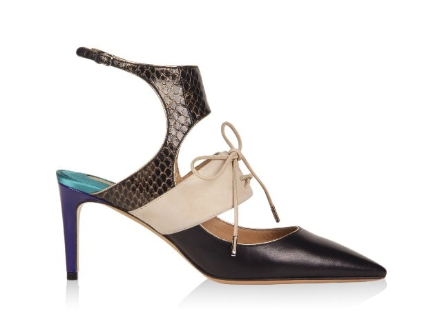 A shoe from Salvatore Ferragamo's Hollywood collection. Photo courtesy of Salvatore Ferragamo