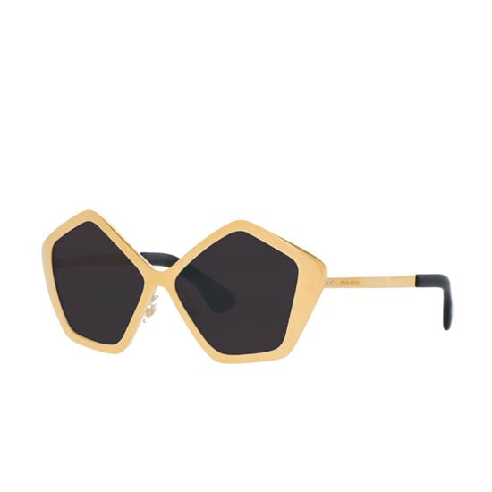 Sunglasses, $440, Miu Miu at Sunglass Hut Call: 1800 556 926