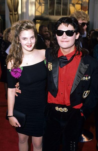 Drew Barrymore, 1989