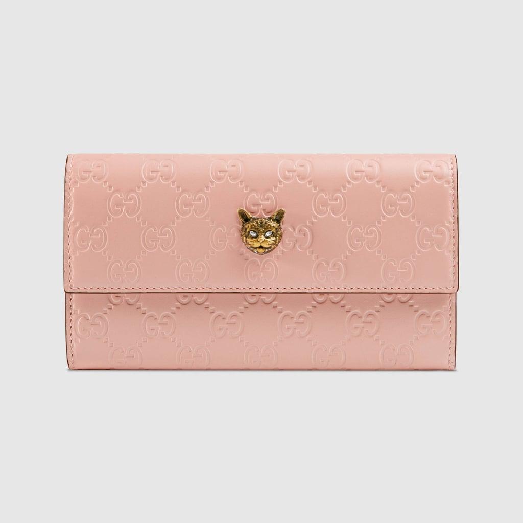 9ab6266a582244 Gucci Signature Continental Wallet | Best Wallets of 2018 | POPSUGAR ...