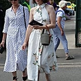 David Beckham and Claire Foy With Their Moms at Wimbledon