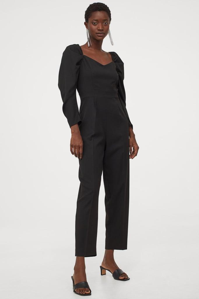 H&M Sweetheart Neckline Jumpsuit