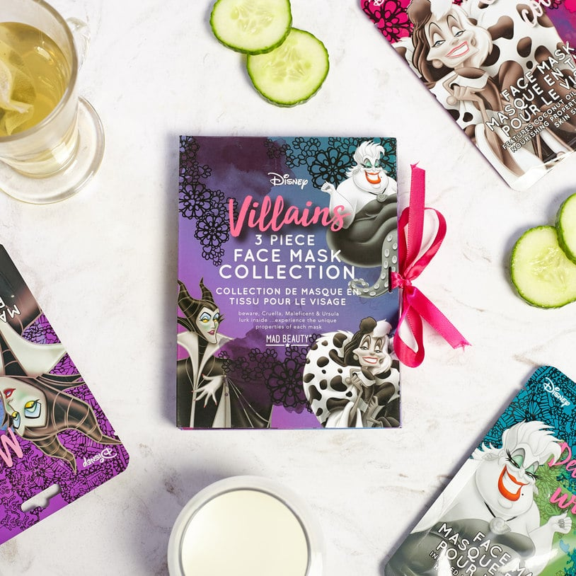 Mad Beauty Disney Villains Face Mask Collection