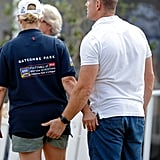 Zara and Mike Tindall at Festival of British Eventing 2018