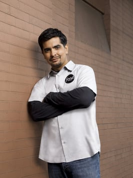 Interview With Food Network Star Aaron Sanchez