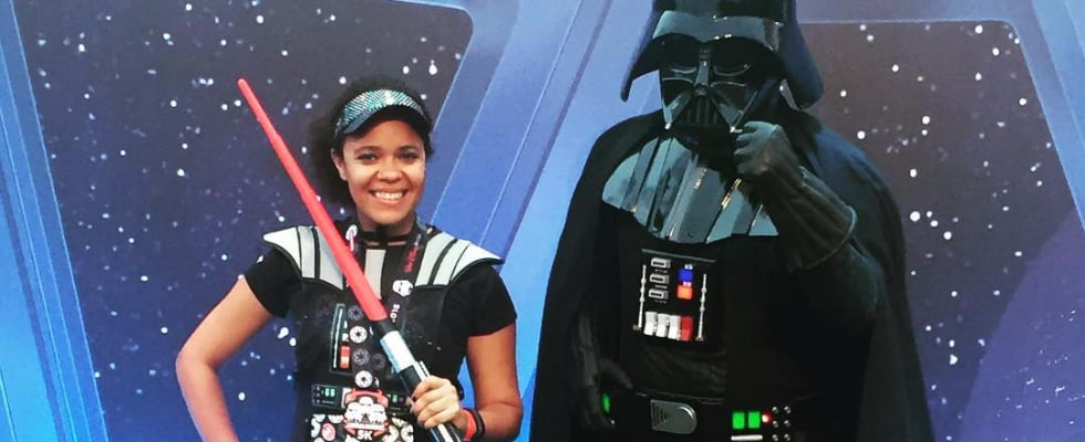 These Star Wars 5K Photos Prove That Disney Is the Happiest Place (to Run) on Earth