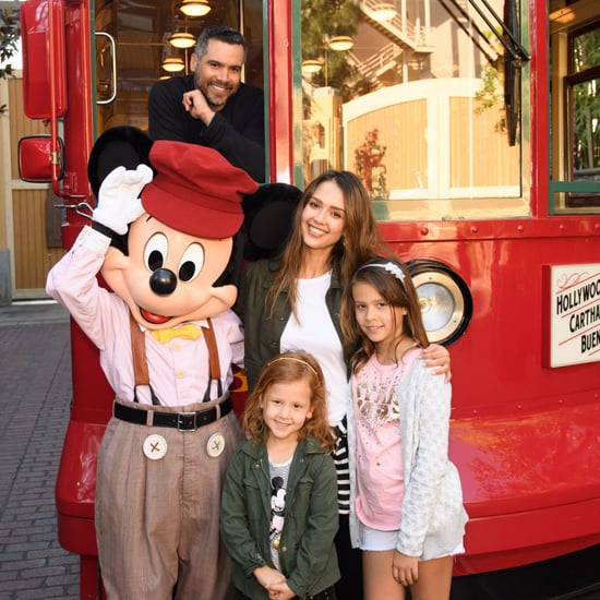 Pictures of Celebrities at Disneyland