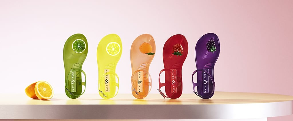 Katy Perry Scented Jelly Sandals