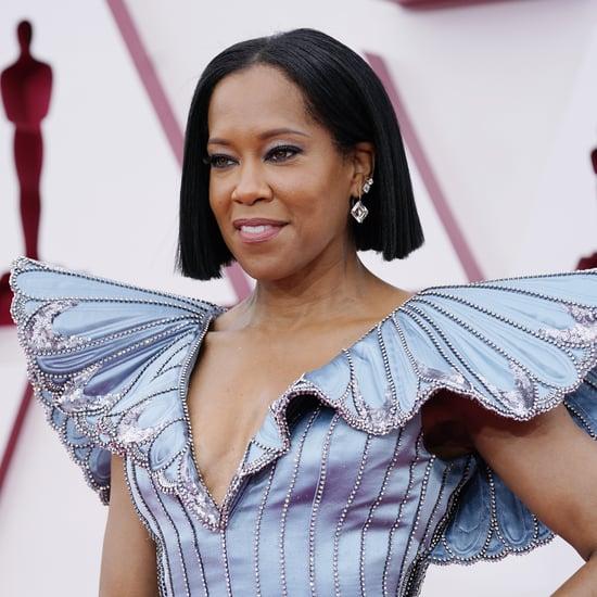 Regina King's Custom Louis Vuitton Dress at the 2021 Oscars