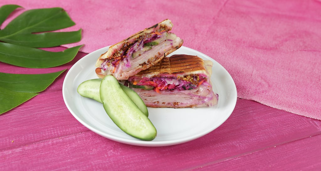 This Turkey Cuban Grilled Cheese Will Be Your New Fave Sandwich